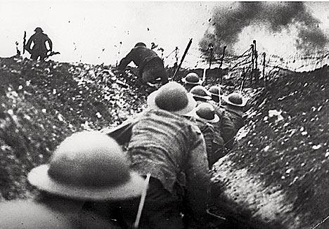 雑学!第一次世界大戦では戦死よ...